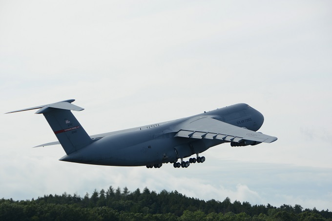 And then there were none, final C-5A departs Westover ARB for retirement