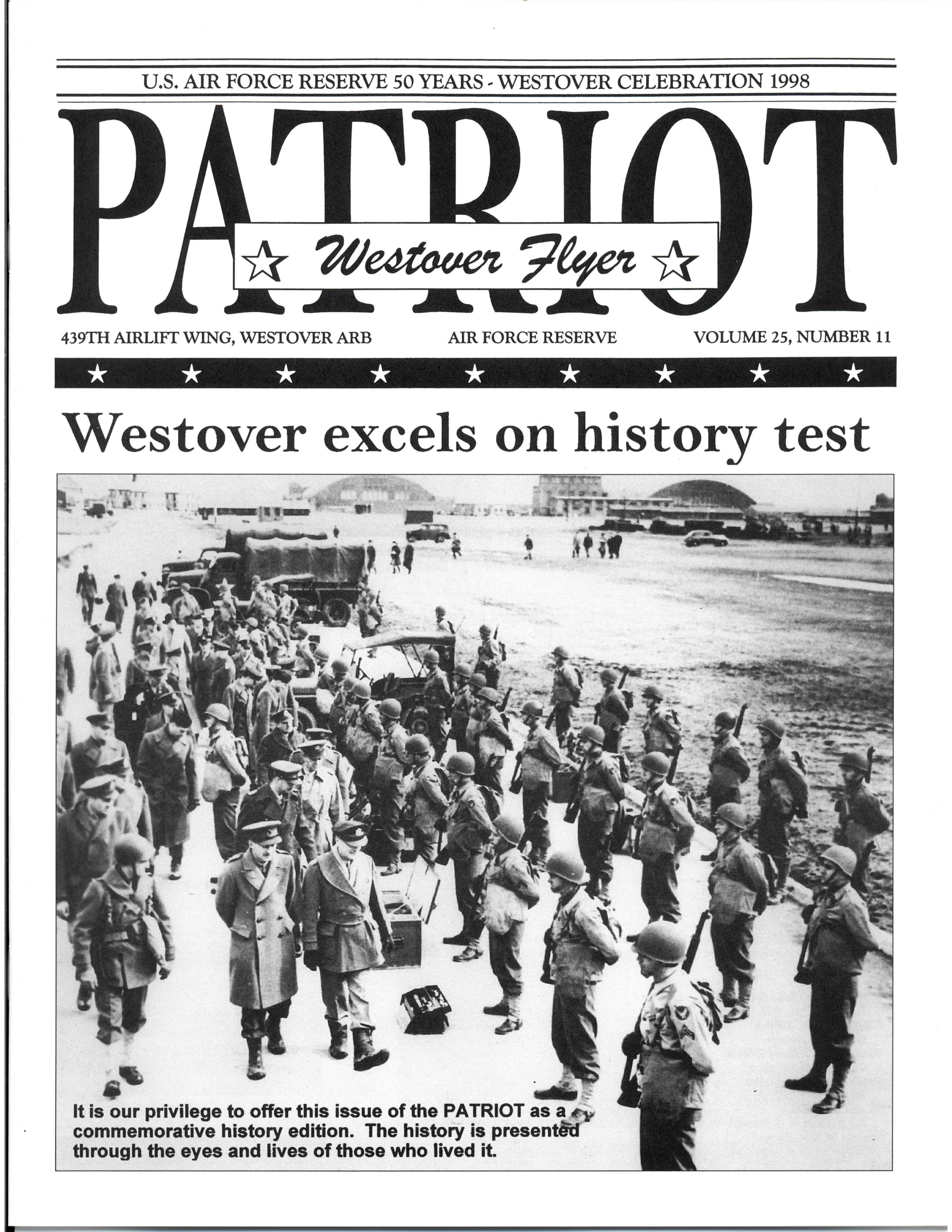 Historical 50 years Patriot Magazine Cover